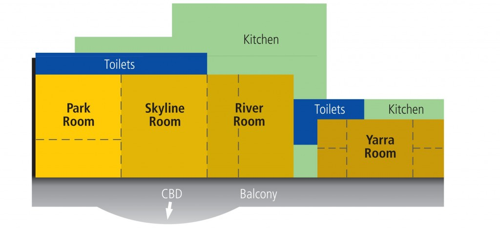 Picture of melbourne Park Function Centre Layout