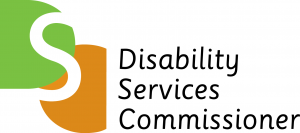 Disability Services Commissioner logo